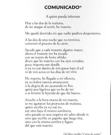 COMUNICADO TITO ALVARADO