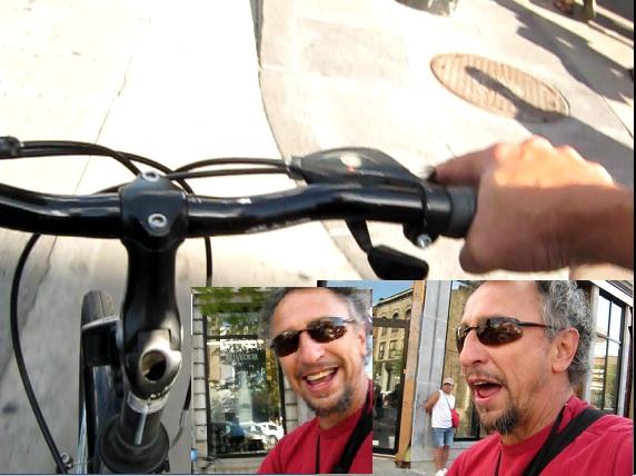 reporte en bicicleta