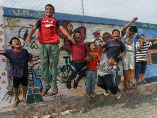 niños guerra de la calle
