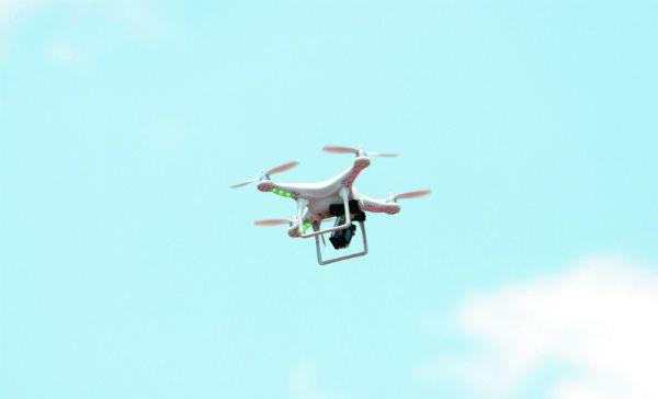 dron en mexique