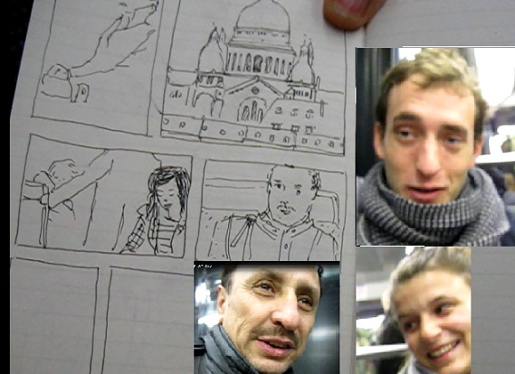 ARTISTA RETRATO METRO