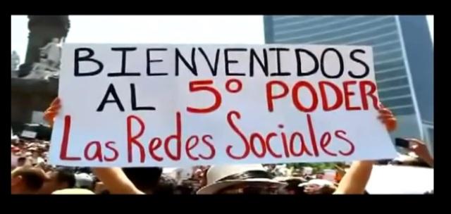 QUINTO PODER REDES SOCIALES