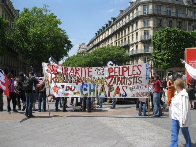 EZLN PRESENCIA PARIS