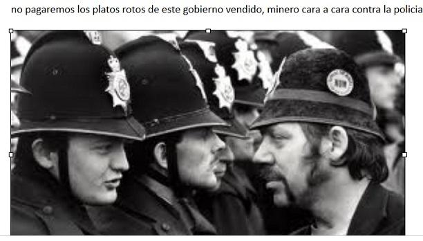 de cara con la poli