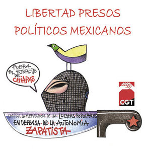 Libertad Presos politicos mexicanos