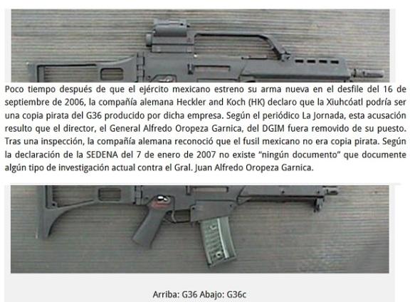 FUSIL MEXICAZTECA CORRUPCIONES