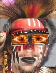 AAA rostro alucinado