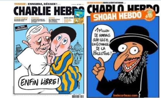 PORTADAS CHARLIE HEBDO