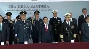 DIA BANDERA 2015 PEÑA Y MILICOS