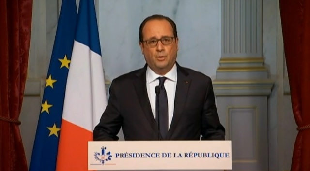 HOLLANDE AVISA
