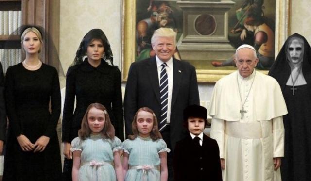 TRUMP FAMILIA PACO MEME