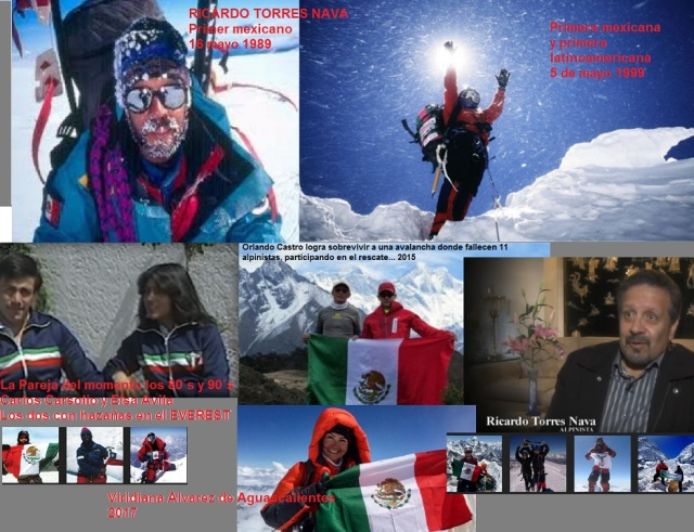 MEXICAZTECAS EN EL EVEREST