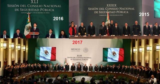 CONSEJO NAL DE SEGURIDAD REUNION segunda DIC 2017
