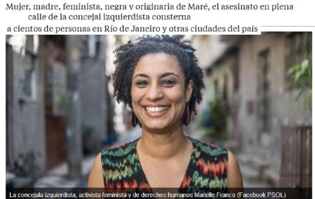 MARIELLE FRAQNCO BRASILÑ