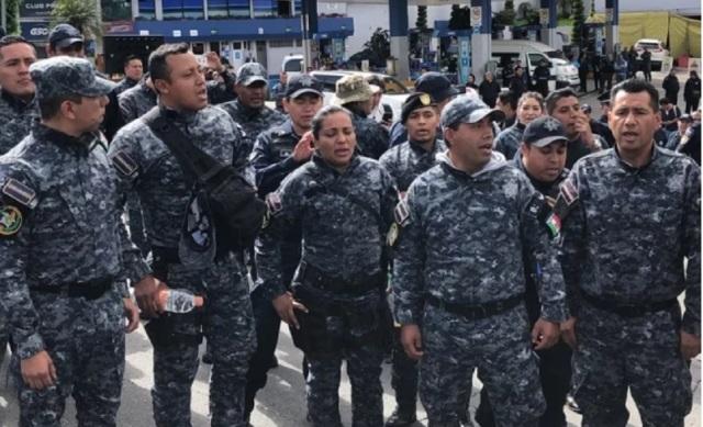 PROTESTA POLICIA FEDERAL. 2