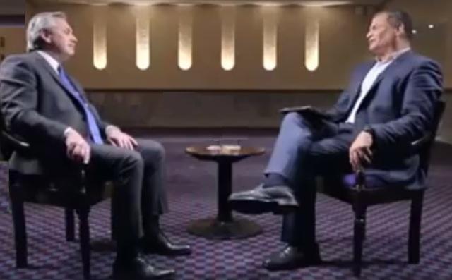 ALBERTO FERNANDEZ ARG RAFAEL CORRAL ECU entrevista