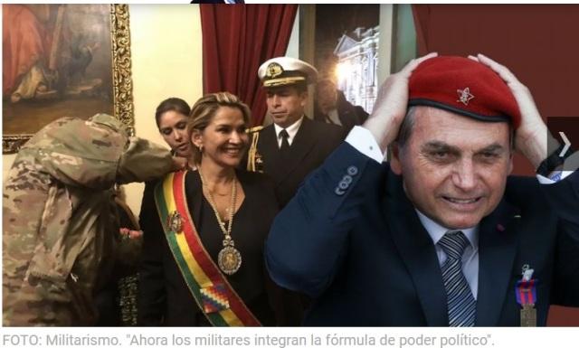 MILITARISMO BOLSONARO BRASIL